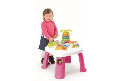 SMOBY - Cotoons Multifunkční Hrací Stůl Růžový Naučné hračky