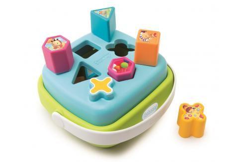 SMOBY - Cotoons Vkládačka Košík, 2 Druhy Naučné hračky