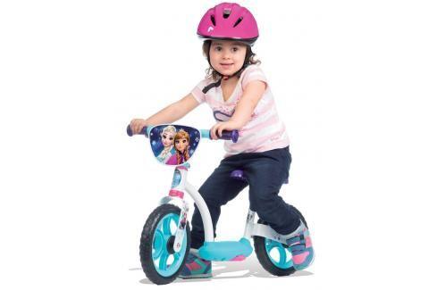 SMOBY - cykloodrážadlo se stojanem 770106 Frozen Odrážedla - 4 kola