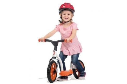 SMOBY - cykloodrážadlo se stojanem oranžové 770103 Odrážedla - 4 kola