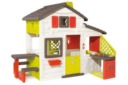 SMOBY - Domeček Friends House S Kuchyní Plastové domčeky pre deti