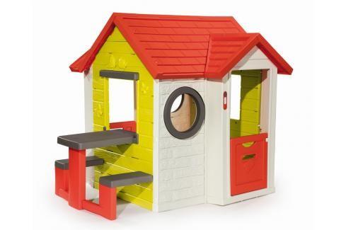SMOBY - Domeček My House S Piknikovým Stolem Plastové domčeky pre deti