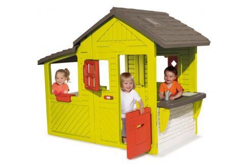 SMOBY - Domeček Neo Floralie Plastové domčeky pre deti