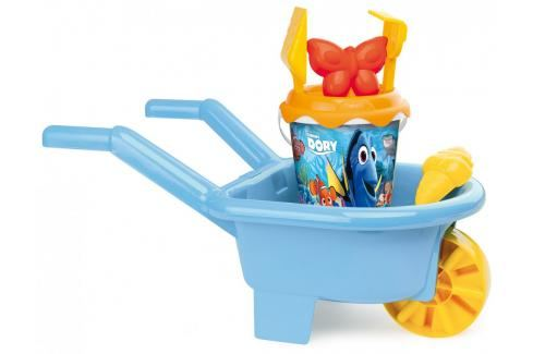 SMOBY - Dory Kolečko s kyblíčkem a přísl. Hračky pro děti 12m+ až 18m+