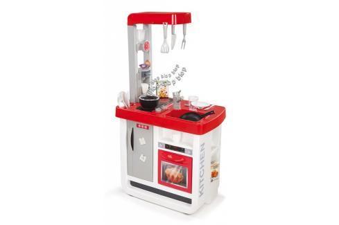 SMOBY - Kuchyňka Bon Appetit elektronická, červeno-bílá Malí pomocníci