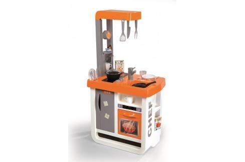 SMOBY - Kuchyňka Bon Appetit oranžová Malí pomocníci