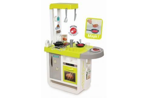 SMOBY - Kuchyňka Bon Appetit Cherry zeleno-šedá elektronická Hrajeme se na profese