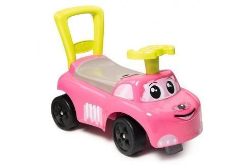 SMOBY - odrážedlo 720518 auto Ride-on růžové Odrážedla - 4 kola