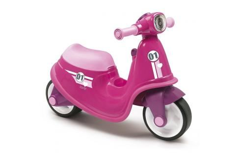 SMOBY - odrážedlo 721002 Scooter růžové Odrážedla - 4 kola