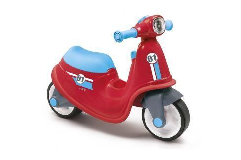 SMOBY - odrážedlo 721003 Scooter červené Odrážedla - 4 kola
