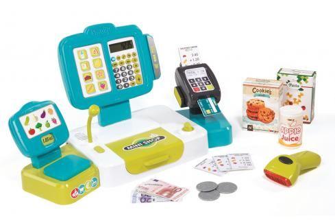 SMOBY - Pokladna elektronická s váhou Hrajeme se na profese