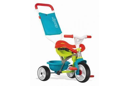 SMOBY - Tříkolka Be Move Confort modro-zelená Tříkolky pro děti