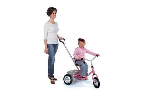 SMOBY - tříkolka Zooky růžová 454016 Tříkolky pro děti