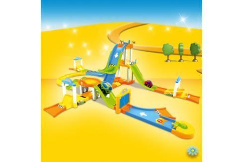 SMOBY - Vroom Planet Skákající autodráha Naučné hračky