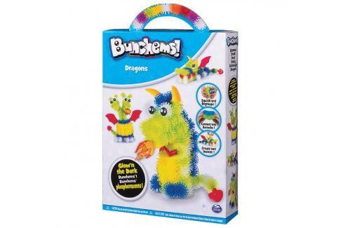 SPIN MASTER - Bunchems Fosforeskující  Sada Kreativní a výtvarné hračky