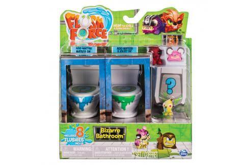 SPIN MASTER - Flush Force 8 Figurek + 2 Záchody Asst Akční figurky