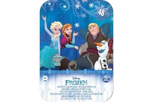 SPIN MASTER - Frozen Puzzle V Plechové Krabičce Klasické puzzle