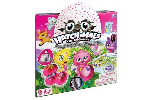 SPIN MASTER - Hatchimals Dobrodružná Hra Se 4 Exkluzivními Zvířátky Hry pro děti