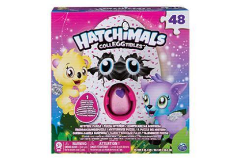 SPIN MASTER - Hatchimals Puzzle 48Ks S Exclusive Zvířátkem Klasické puzzle