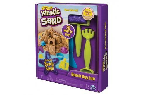SPIN MASTER - Kinetic Sand Plážová Hrací Sada S Nářadím Kreativní a výtvarné hračky