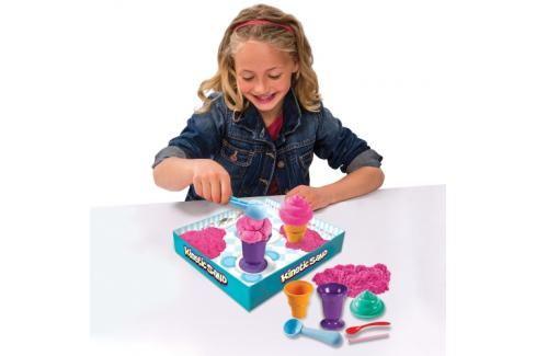 SPIN MASTER - Kinetic Sand Zmrzlina nebo Stavba 26467 Kreativní a výtvarné hračky