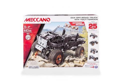 SPIN MASTER - Model 25 Variant S Motorem Meccano Ostatní stavebnice