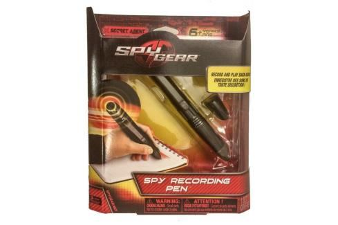 SPIN MASTER - Spy-Gear Agenturní nahrávací pero 22169 Hrajeme se na špiony
