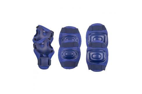 SPOKEY - AEGIS - 3-dílná sada dětských chráničů, tmavě modré, vel. M Chrániče na letní sporty