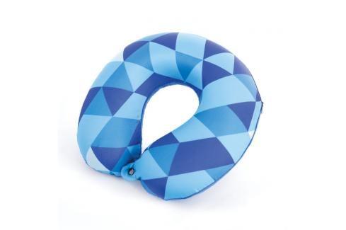 SPOKEY - AMBIENT Cestovní polštářek paměťová pěna modrý Cestovní polštáře a nákrčníky pro děti