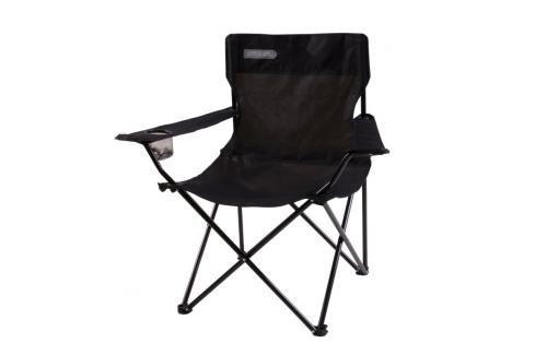 SPOKEY - ANGLER - turistické skládací křeslo černo - šedé Houpací sítě a cestovní židle