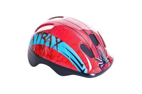 SPOKEY - ATRAX Dětská cyklistická přilba Chrániče na letní sporty