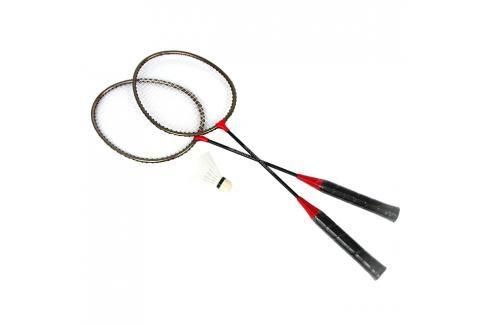 SPOKEY - BADMNSET1 Sada na badminton - 2 x raketa, košíček, obal Badminton