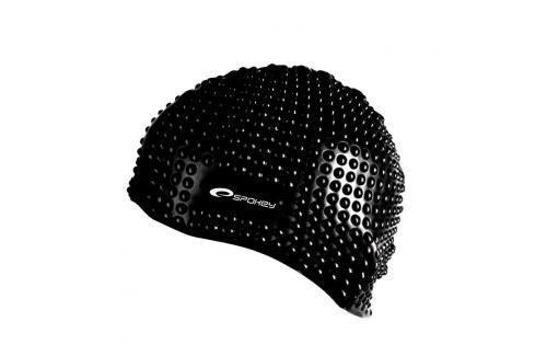 SPOKEY - BELBIN-Plavecká čepice bublinková černá Čepice na koupání