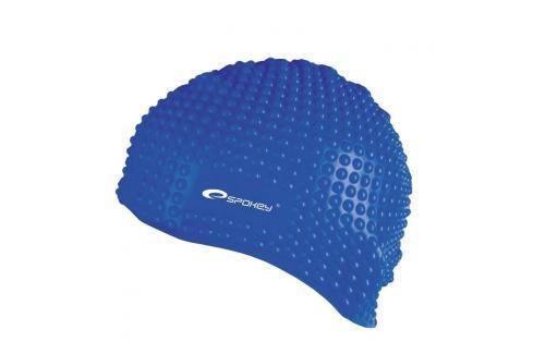 SPOKEY - BELBIN-Plavecká čepice bublinková modrá Čepice na koupání