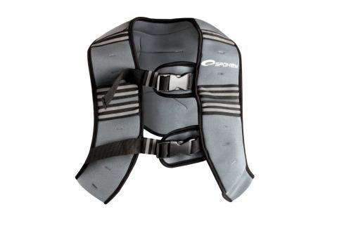 SPOKEY - BESTOW vesta se závažím 5 kg vel. L Posilovací válce a gumy