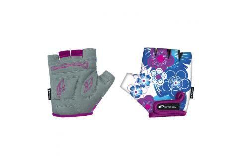 SPOKEY - BLUE GLOVE Dětské cyklistické rukavice dětské  XXS Cyklistické rukavice