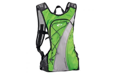 SPOKEY - BUFFALO Cyklistický a běžecký batoh zelený 2l, voděodolný Batohy
