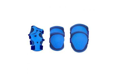 SPOKEY - BUFFER - 3-dílná sada dětských chráničů, modré, vel. M Chrániče na letní sporty