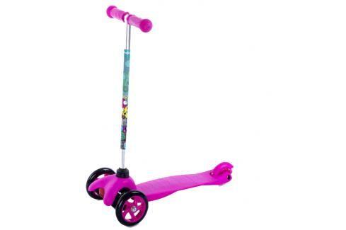 SPOKEY - BULLER Skládací tříkolka dětská růžová Koloběžky