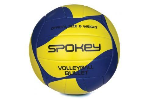 SPOKEY - BULLET  Volejbalový míč žluto-modrý  rozm.5 Volejbal