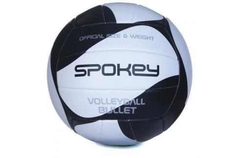 SPOKEY - BULLET Volejbalový míč černo-bílý  rozm.5 Volejbal
