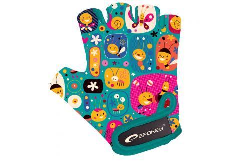 SPOKEY - BUMBLEBEE Dětské cyklistické rukavice XXS Cyklistické rukavice