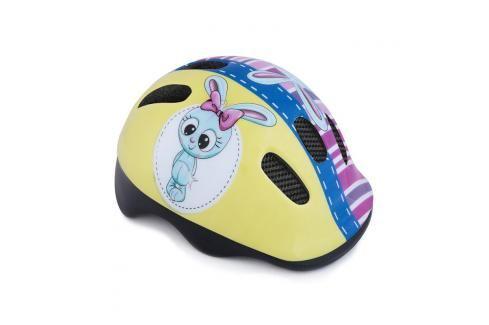 SPOKEY - BUNNY Dětská cyklistická přilba, 44-48 cm Dětské přilby