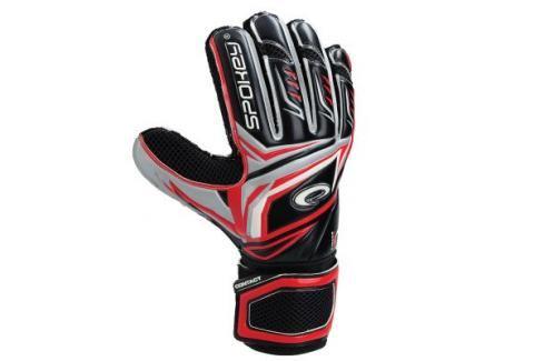 SPOKEY - CONTACT Brankářské rukavice červené č. 10 Fotbal