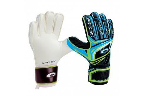 SPOKEY - CONTACT II Brankářské rukavice černo - modrá č. 7 Fotbal