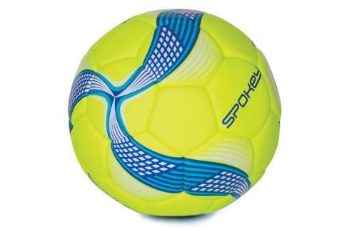 SPOKEY - COSMIC Fotbalový míč ze 100% PU limetkovo-modrý vel.5 Fotbal