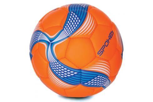 SPOKEY - COSMIC Fotbalový míč ze 100% PU oranžovo-modrý vel.5 Fotbal