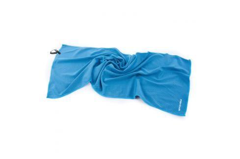 SPOKEY - COSMO Chladící rychleschnoucí ručník 31 x 84 cm, modrý v plastové tubě Spokey