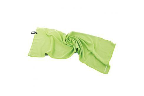 SPOKEY - COSMO Chladící rychleschnoucí ručník 31 x 84 cm, zelený v plastové tubě Spokey