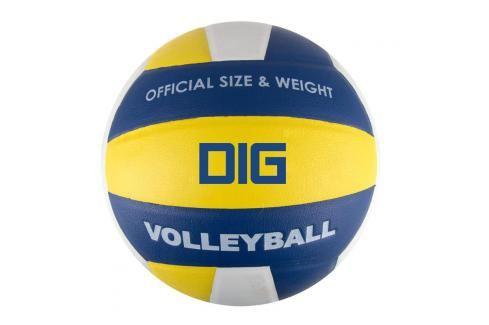 SPOKEY - DIG II Volejbalový míč modro-žlutý vel.5 Volejbal